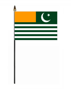 Kashmir Country Hand Flag - Small.